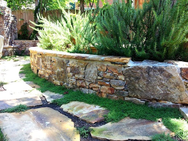 Advice on retaining walls charlotte pavers stone for Landscaping rocks charlotte nc