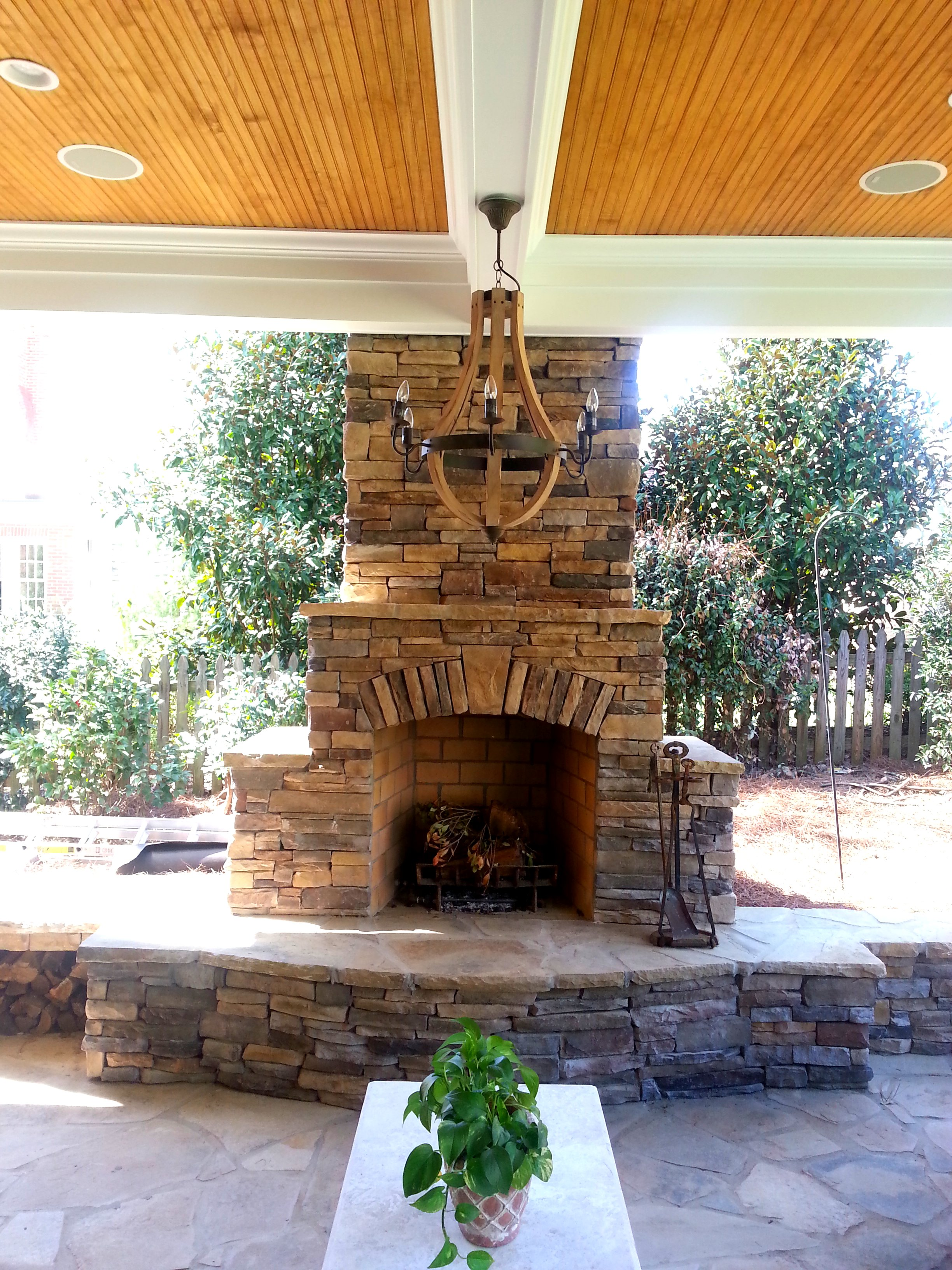 outdoor fireplace design gallery charlotte pavers