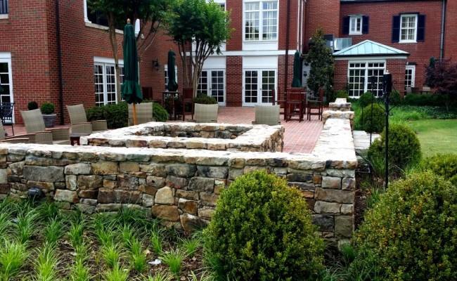 stone fire pit design
